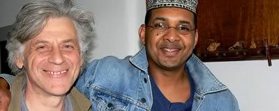Roman Bunka und Mohamed Badawi