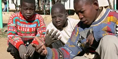 Strassenkinder-Projekt im Sudan