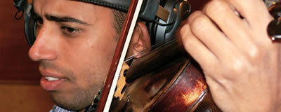 Tahir Mahmoud (Violine)